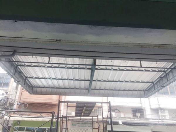 Metal Sheet Awnings Canopies
